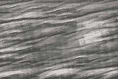 一块灰色豪华大理石石头的黑白纹理 向量例证