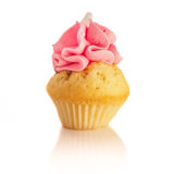 杯形蛋糕莓 库存照片