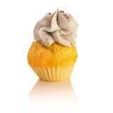 杯形蛋糕蓝莓 免版税库存图片