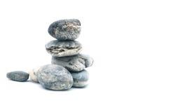 一块滑稽的石头 免版税库存图片