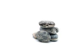 一块滑稽的石头 免版税图库摄影