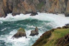 一处沿海风景在爱尔兰 免版税库存图片