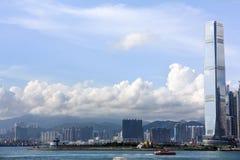一天在香港 免版税库存照片