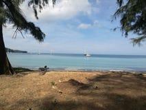 一天从生活在普吉岛 库存照片