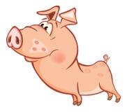 一头逗人喜爱的猪的传染媒介例证 卡通人物Ð'ÐΜзыР¼ Ñ  Ð ½ Ð ½ Ñ‹Ð¸Ì † - 4 库存例证