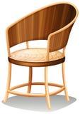 一套光滑的棕色家具 库存图片
