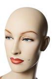 一女性manneqin的Headshot,垂直 库存照片