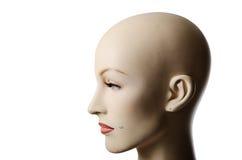 一女性manneqin的Headshot,外形 库存照片