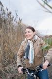 一妇女循环 免版税图库摄影