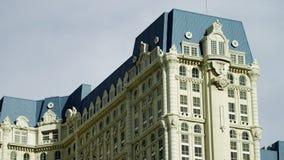 一家优等的旅馆的看法在拉斯维加斯 影视素材