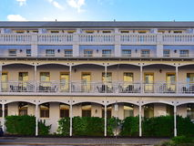 一家典雅的经典旅馆的外部在珀斯 免版税库存图片