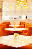 一家当代餐馆 免版税图库摄影