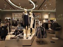 一家新的H&M商店在上海 免版税库存照片