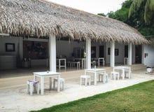 一家木旅馆在Phu Quoc海岛,越南 库存图片