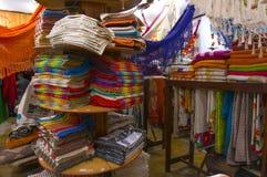 纪念品商店在Paraty 库存照片