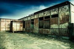一家被放弃的商店 库存图片