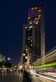 一家豪华旅馆华尔道夫Astoria希尔顿(Zoofenster)西柏林的 库存照片
