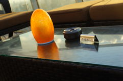 一家豪华旅馆的休息室地区 免版税库存照片
