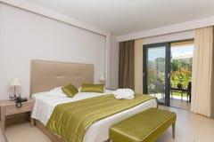 一家豪华旅馆的室 免版税库存图片