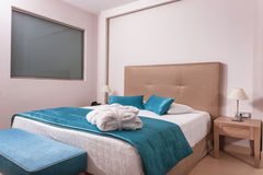 一家豪华旅馆的室 库存照片