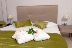 一家豪华旅馆的室 免版税库存照片