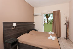 一家豪华旅馆的室 免版税图库摄影
