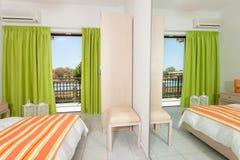 一家豪华旅馆的室 库存图片