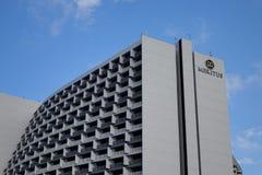 一家豪华旅馆马卡蒂位于马尼拉,菲律宾 图库摄影