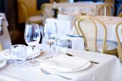一家餐馆 免版税库存图片