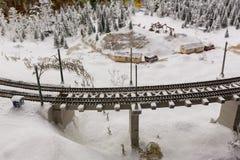 一座偶象老金属捆铁路桥梁盛大嘲笑博物馆是市圣彼德堡 库存照片