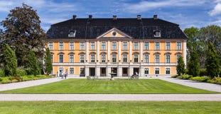 一座公开城堡, Nynas Slott,瑞典 库存照片