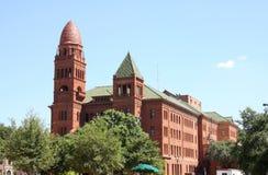一座唯一法院大楼在圣安东尼奥 库存照片