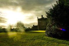 一座城堡在基尔肯尼 库存照片