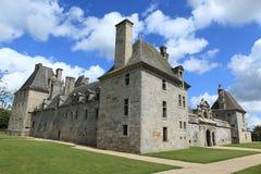一座城堡在法国 免版税库存照片