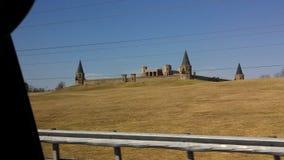 一座城堡 免版税库存照片