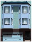 一座大办公楼 免版税图库摄影