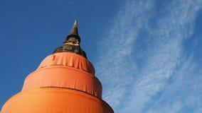 一座平安的塔在晴天 免版税库存图片