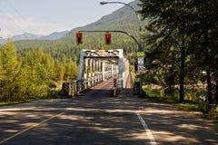 一座方式桥梁 库存图片