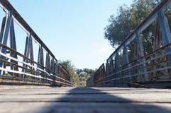 一座桥梁在克利特 库存照片