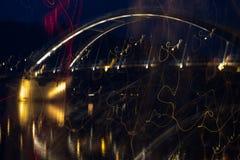 一座桥梁在帕绍在德国 库存照片