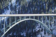 一座桥梁在科罗拉多 免版税库存图片