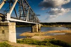一座桥梁对新的生活 库存照片