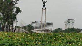 一座独立周年纪念碑,雅加达印度尼西亚 股票录像