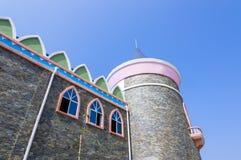 一座童话城堡 免版税库存图片