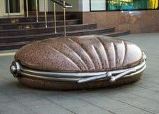 一座纪念碑到钱包在市克拉斯诺达尔 免版税库存图片