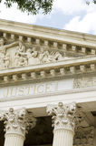 一座老法院大楼 库存照片