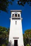 一座老钟楼在Minamar区在哈瓦那,古巴 库存图片