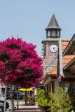 一座钟楼在Solvang,加利福尼亚 免版税库存图片