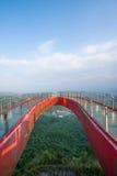 一座U形桥梁的Meisha 10月东部深圳顶点 图库摄影