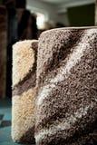 一张地毯的特写镜头有美好的样式的 免版税图库摄影